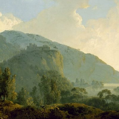 Gallo, Piccola Sinfonia - Italian Landscape with Mountains and a River